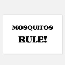 Mosquitos Rule Postcards (Package of 8)