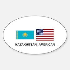 Kazakhstani American Oval Decal