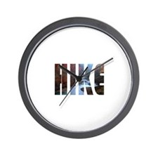 Hike Wall Clock