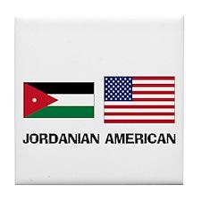 Jordanian American Tile Coaster