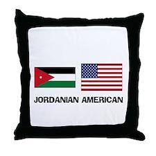 Jordanian American Throw Pillow