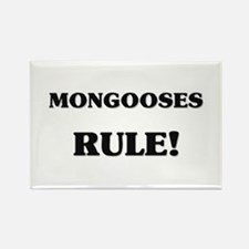 Mongooses Rule Rectangle Magnet