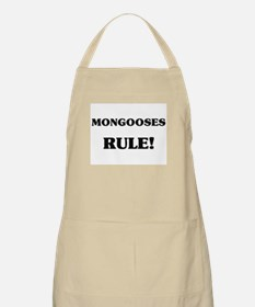 Mongooses Rule BBQ Apron