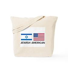 Jewish American Tote Bag