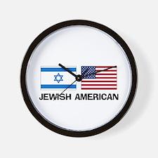 Jewish American Wall Clock