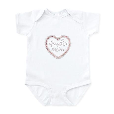 Grandpa's Princess - Heart of Infant Bodysuit