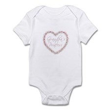 Grandpa's Princess - Heart of Infant Bodysuit