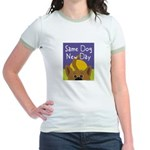 Same Dog, New Day Jr. Ringer T-Shirt