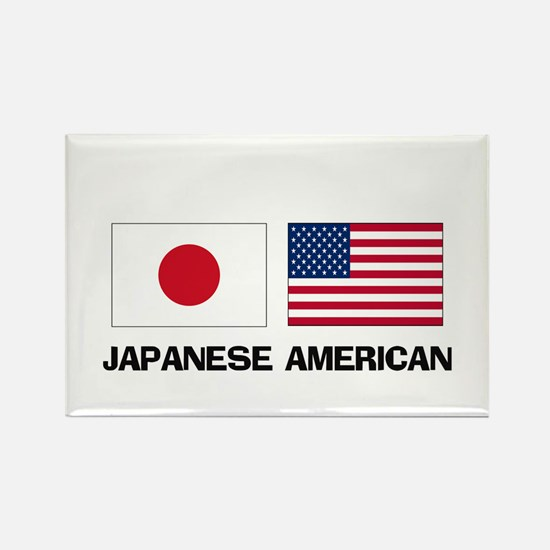 Japanese American Rectangle Magnet