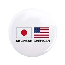 "Japanese American 3.5"" Button"