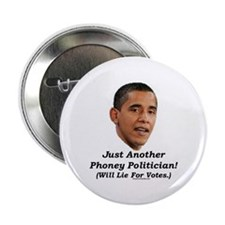 """Just a Phoney"" 2.25"" Button"