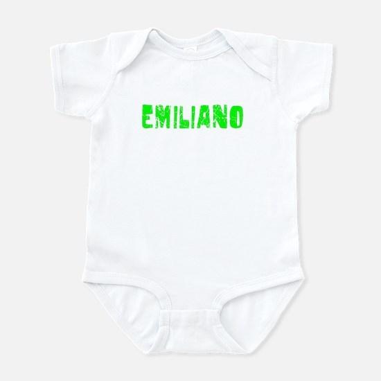 Emiliano Faded (Green) Infant Bodysuit