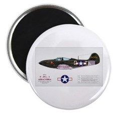 Airacobra WWII Aircraft Magnet