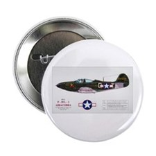 Airacobra WWII Aircraft Button