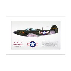 Airacobra WWII Aircraft Posters