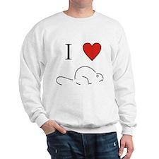 """I love beaver"" Sweatshirt"