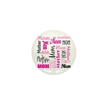 Mom Mother's Mini Button (100 pack)