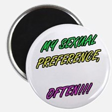SEXUAL PREFERENCE-OFTEN! 5 Magnet