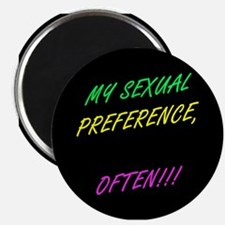 SEXUAL PREFERENCE-OFTEN! 5- Magnet