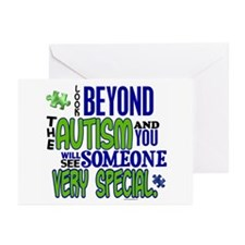 Look Beyond 1.1 (AUTISM) Greeting Cards (Pk of 10)