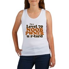 Level 70 Noob Pwner Women's Tank Top