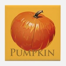 Fall Pumpkin Tile Coaster