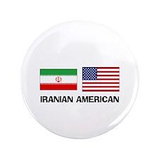 "Iranian American 3.5"" Button"