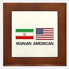 Iranian American Framed Tile