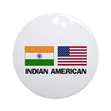 Indian American Ornament (Round)