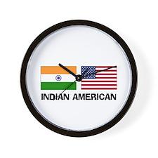 Indian American Wall Clock