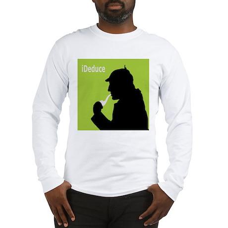 Sherlock Holmes iDeduce Long Sleeve T-Shirt