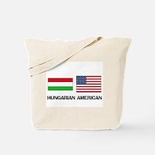 Hungarian American Tote Bag