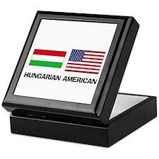 Hungarian American Keepsake Box