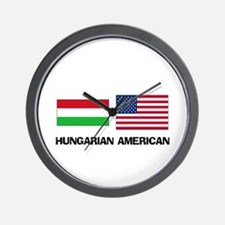 Hungarian American Wall Clock