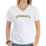 Be Patient Women's V-Neck T-Shirt