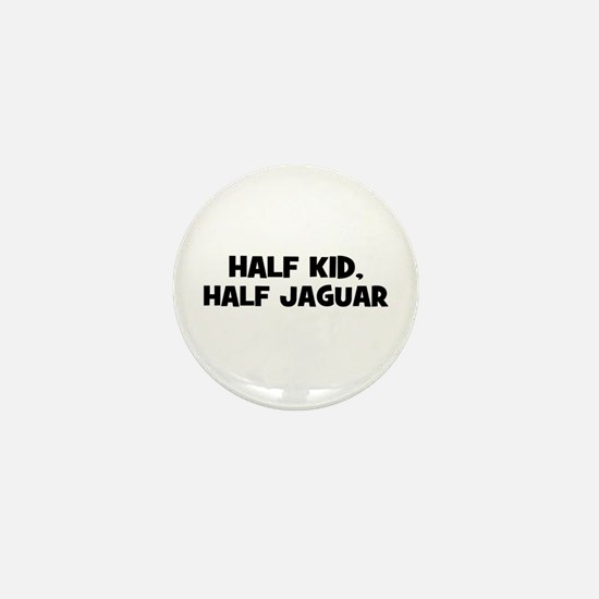 half kid, half Jaguar Mini Button