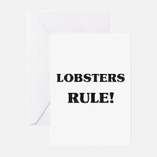 Lobsters Rule Greeting Cards (Pk of 10)