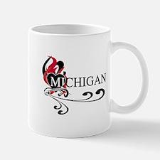 Heart Michigan Mug