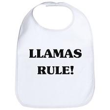 Llamas Rule Bib