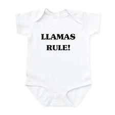 Llamas Rule Infant Bodysuit