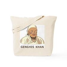 Genghis Khan Tote Bag
