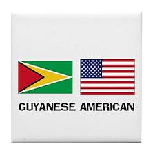 Guyanese American Tile Coaster