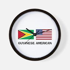 Guyanese American Wall Clock
