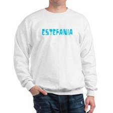 Estefania Faded (Blue) Sweater