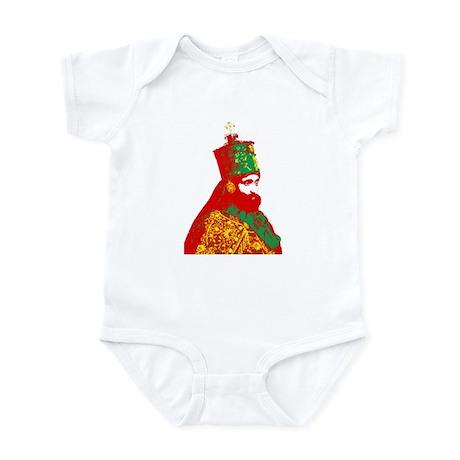 Haile Selassie Infant Bodysuit