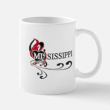 Heart Mississippi Mug