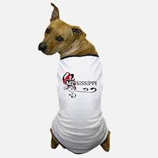 Heart Mississippi Dog T-Shirt