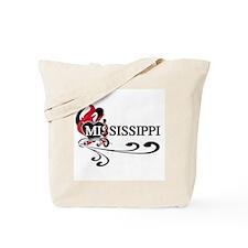 Heart Mississippi Tote Bag