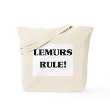 Lemurs Rule Tote Bag