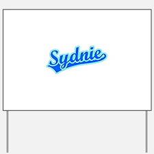 Retro Sydnie (Blue) Yard Sign